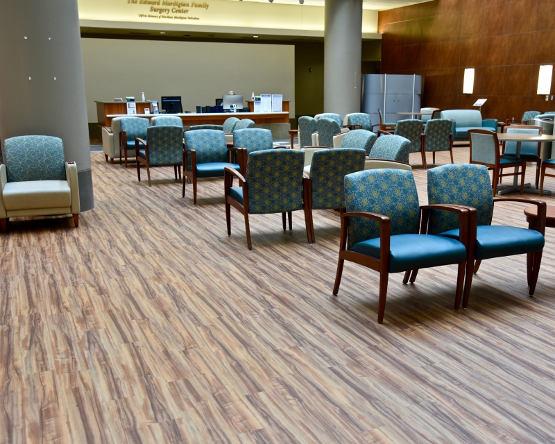 Beaumont Health 2 South Surgery Waiting Area