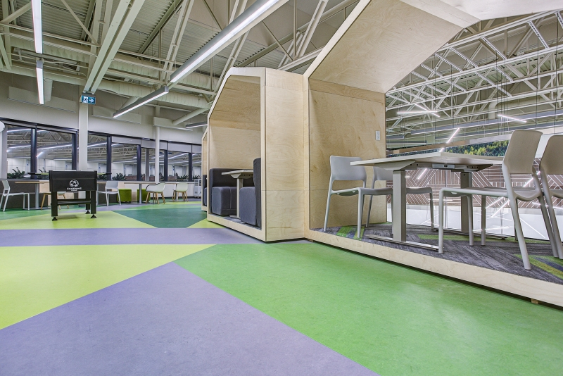 CAE (Management, Reception & Showroom Pavilion Redesign)
