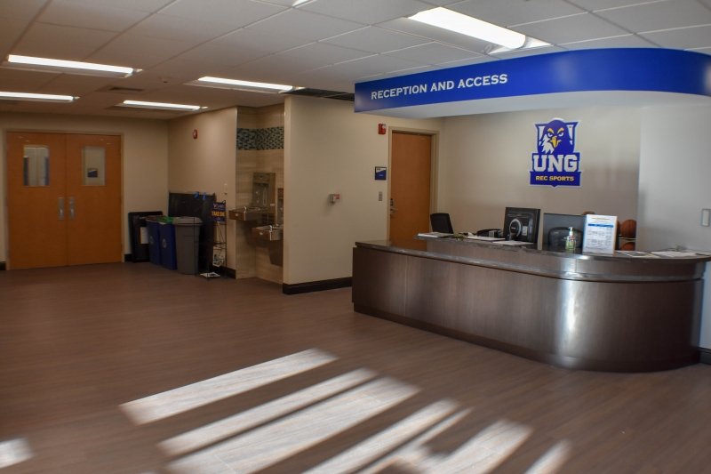 UNG Hugh Mills Locker Room