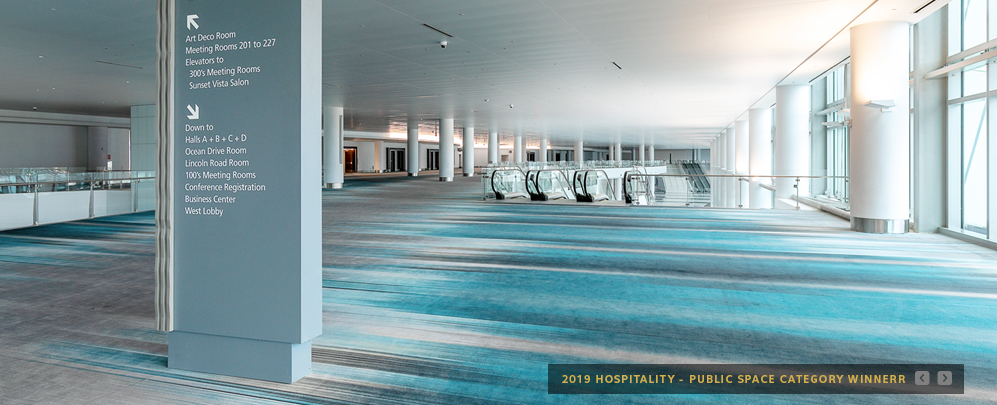 Hospitality – Public Spaces Category Winner – 2019